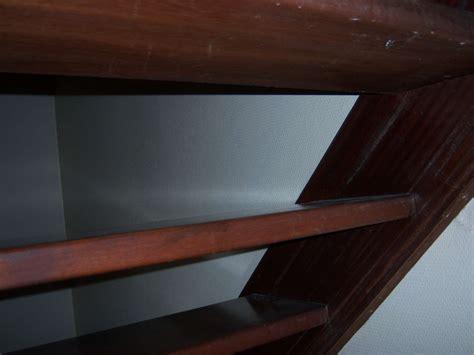fermer un escalier en bois