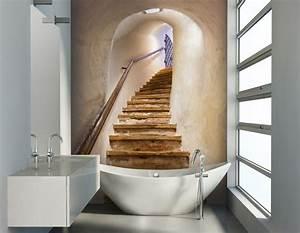 Wandbilder Für Badezimmer : badezimmer ideen f r kleine b der mit fototapeten ~ Markanthonyermac.com Haus und Dekorationen