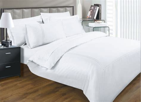 Thread Count Elegance White Colour Luxury Egyptian