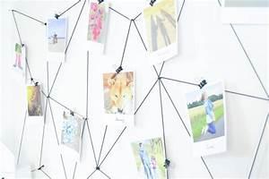 Idee Für Fotowand : diy fotowand fotos im polaroidstyle in szene gesetzt ~ Markanthonyermac.com Haus und Dekorationen