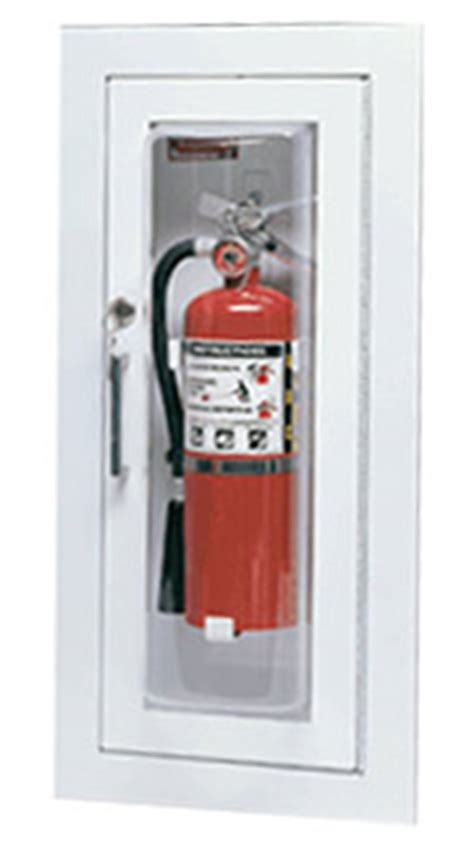 larsen s c2409r cameo series extinguisher cabinet