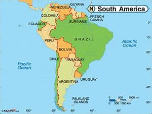 Difference between North America and South America | North ...