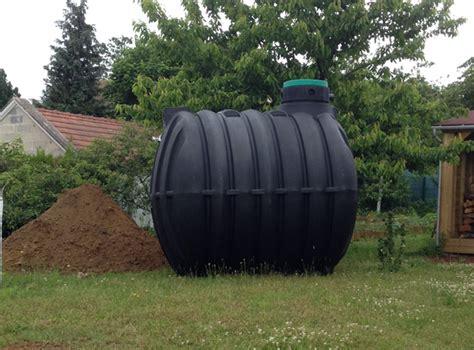 maison 233 cologique installation d une cuve enterr 233 e de r 233 cup 233 ration d eau de pluie