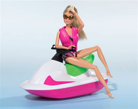 Barbie Jet Boat by Steffi Love Jet Boat And Fashion Packs