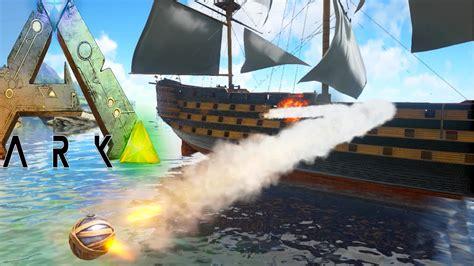 Ark Boat Youtube by Ark Survival Evolved Battle Ship Speed Boat Ark