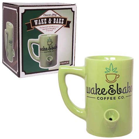 Wake And Bake Mug Pipe