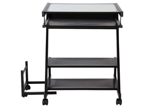 bureau informatique fusion ii coloris noir vente de bureau conforama