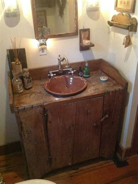 best 25 primitive bathroom decor ideas on