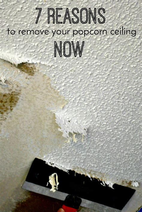 architecture of a 7 reasons to remove your popcorn ceiling