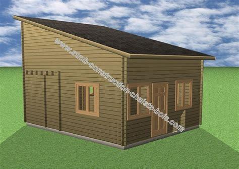 faire construire un chalet maison moderne