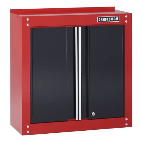 craftsman 28 quot wide wall cabinet black