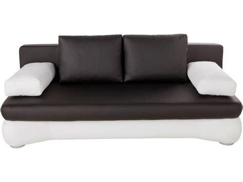 canape convertible noir et blanc maison design hosnya