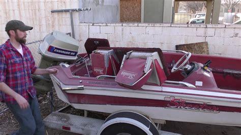 Skeeter Bass Boat Youtube by Skeeter Bass Boat Restoration 1 Youtube