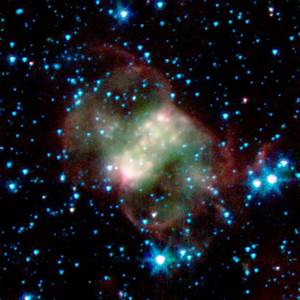Across The Universe: A Ghostly Trio from NASA's Spitzer ...