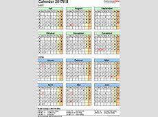 Calendar 2017 Nz 2018 calendar printable