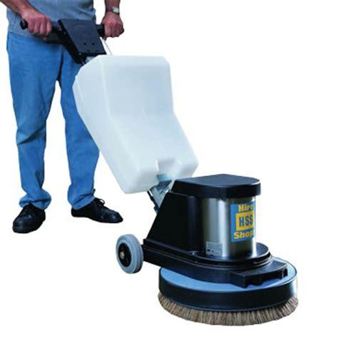 floor scrubber polisher 110v hss hire