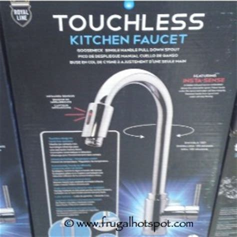 costco deal royal line touchless kitchen faucet 149 99