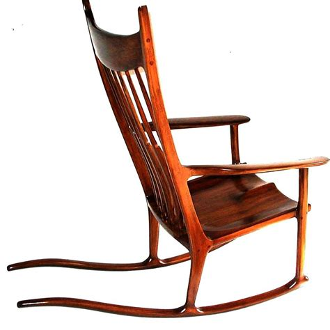 pdf plans maloof inspired rocking chair plans diy make woodworking bench
