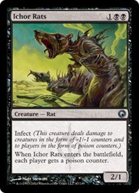 ichor rats scars of mirrodin gatherer magic the gathering