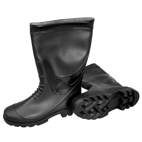 Rubber Boots Home Depot mat size 7 black pvc boots 887007b the home depot