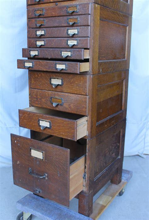 bargain s antiques 187 archive oak file cabinet shaw walker bargain s antiques