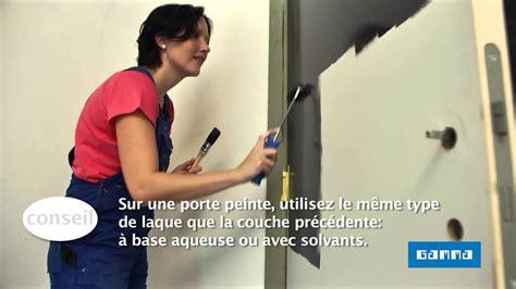 peindre une porte int 233 rieure en la bloquant vid 233 o bricolage gamma belgique