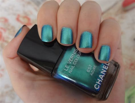 Chanel Azure Nail Polish Review