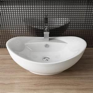 Bemalte Keramik Waschbecken : design keramik aufsatz waschbecken tisch handwaschbecken g ste wc a82 ebay ~ Markanthonyermac.com Haus und Dekorationen