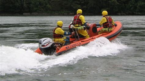 Swift Water Boat by Swiftwater Flood Rescue Boat Operator
