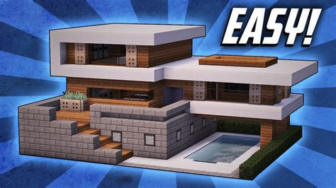 Minecraft How To Build A Large Modern House Tutorial (#19