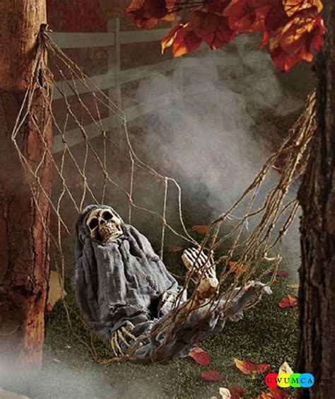 ideas outdoor decoration ideas to make your home look spooky outdoor