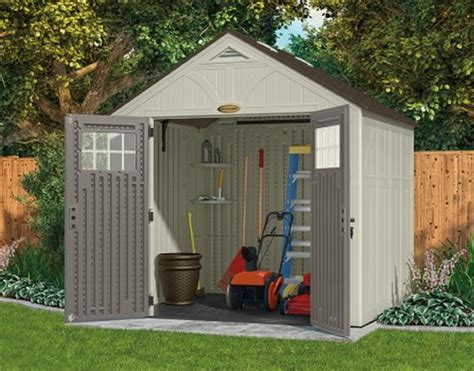 tremont 8x16 shed kit resin storage shed by suncast