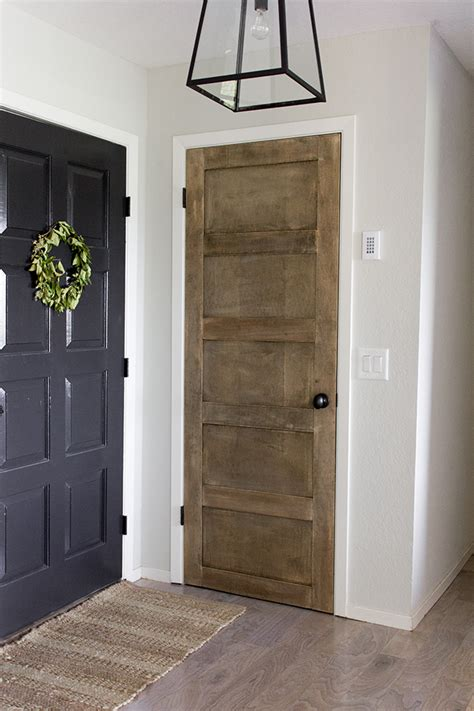 Foyer Update Diy Salvaged Door  Jenna Sue Design Blog