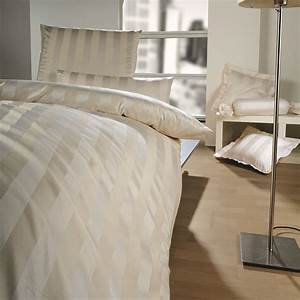 Bettwäsche 155x220 Beige : curt bauer como mako brokat streifen damast bettw sche beige 0639 boudoir ~ Markanthonyermac.com Haus und Dekorationen