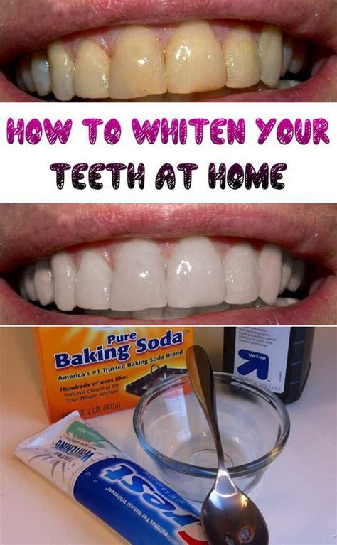 at home teeth whitening 15 ways to whiten your teeth teeth