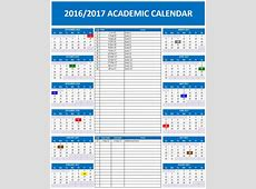 20162017 School Calendar Templates Microsoft and Open