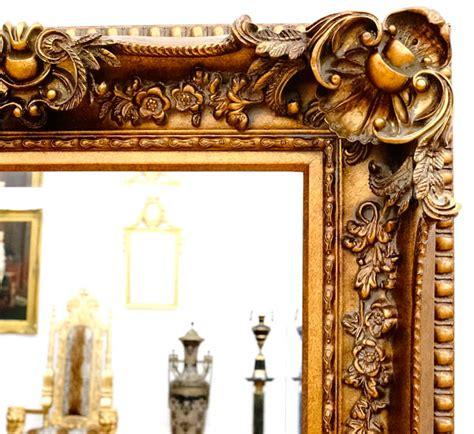 miroir baroque cadre en bois dor 233 156x95 cm miroirs baroque classic stores