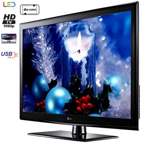 lg 32le4500 32 hd 1080p ultra slim led tv with 4x hdmi usb connectivity