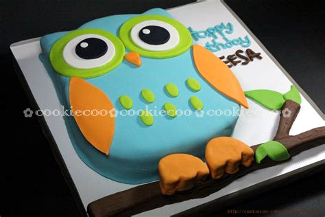 owl birthday cake cookiecoo owl birthday cake for sheesa