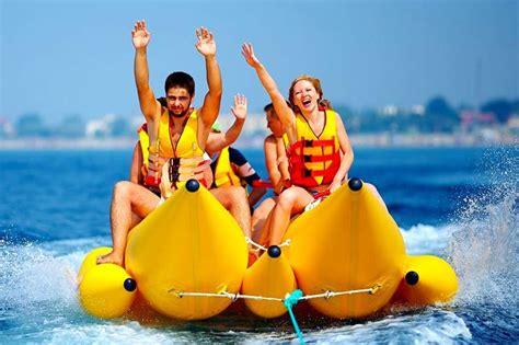 Banana Boat Group by Banana Boat Riding And Tube Riding Banana Boat Ride An