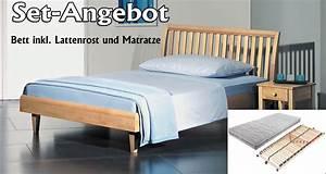 Bett Inkl Matratze Und Lattenrost : set angebot alpina bett inkl lattenrost und matratze ~ Markanthonyermac.com Haus und Dekorationen