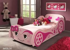 Kinderbett 200 X 90 : autobett pretty girl liegefl che 90 x 200 cm rosa kinder jugendzimmer lizzy ~ Markanthonyermac.com Haus und Dekorationen