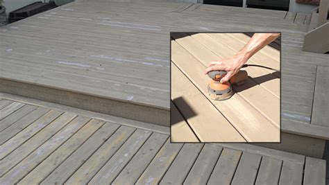 restain a 3 5 year deck do i need to