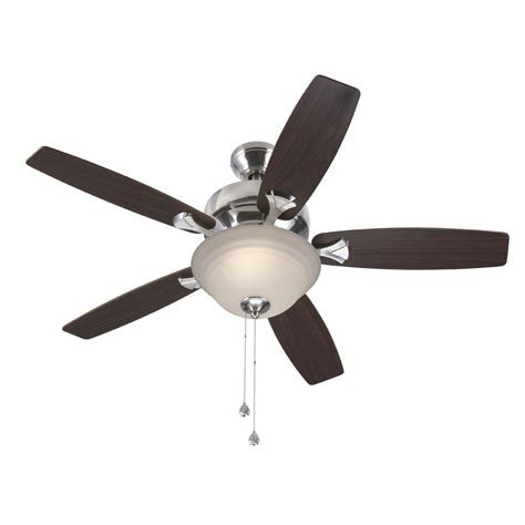 harbor 44 in harbor penticton brushed nickel ceiling fan lowe s canada