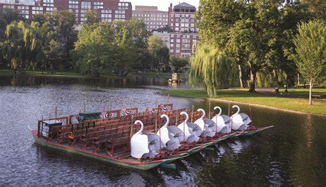 Swan Boats Boston Public Garden by A Not So Quiet Morning In The Public Garden 171 Gary Borders