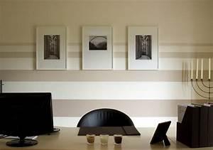 Wandmuster Streichen Ideen : w nde mit farbe gestalten ideen ~ Markanthonyermac.com Haus und Dekorationen