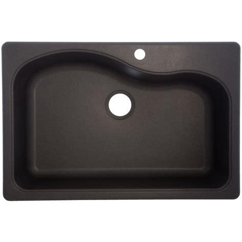 shop franke usa 22 in x 33 in graphite single basin