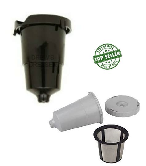 Keurig combo K cup Holder replacement part with My K Cup Reusable filter pod new   Coffee