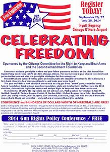 GUN RIGHTS POLICY CONFERENCE: This Friday-Sunday! Draft ...