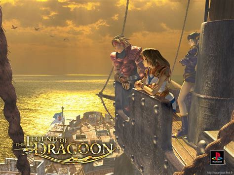 Wallpaperlegend Of Dragoon